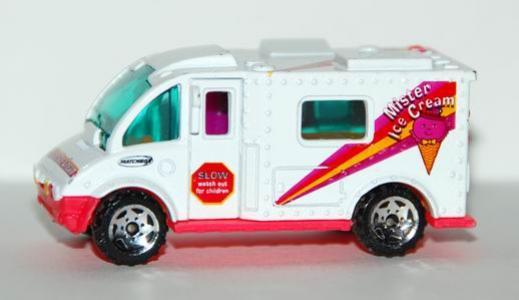 Attractive Matchbox Ice Cream Truck