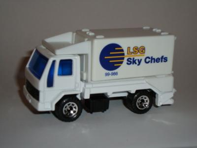 Matchbox Ford Cargo Scissors Truck